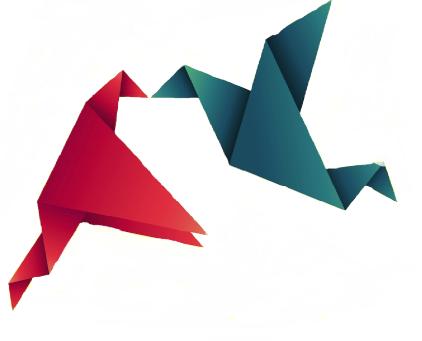 pájaros-origami